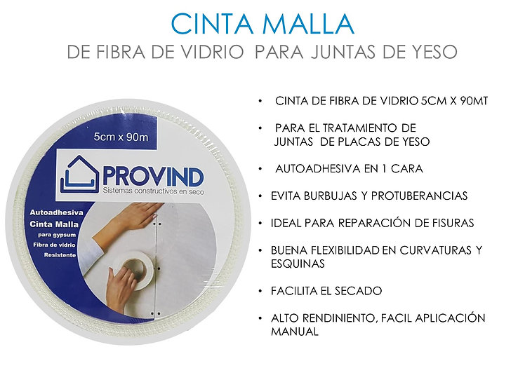 CINTA MALLA PROVIND