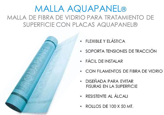 malla aquapanel