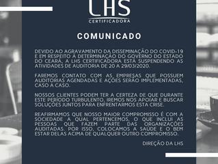 Certificação: auditoria x coronavírus