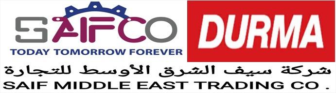 سيف الشرق الأوسط التجارية ( DURMA )جميع المعدات الصناعية التي تخص مصانع وورش الحديد والخشب  جناح رقم