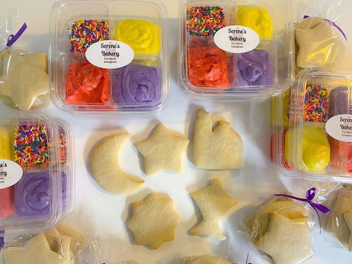 5 Halal Meals from Aladdin Cafe & 1 Serene's Bakery DIY Cookie Set
