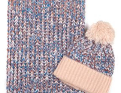 Florence & Lolly Hat & Scarf Set