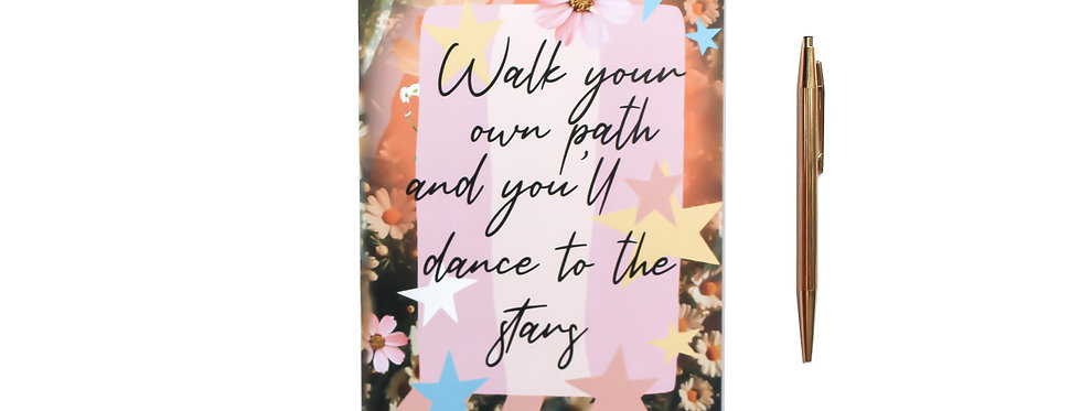Walk Your Own Path - Notebook
