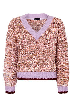 Sustainable female luxury knitwear Cara And The Sky Jumper