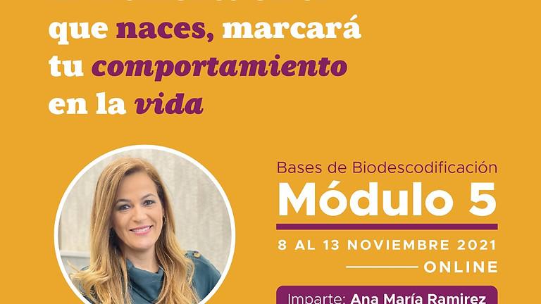 Módulo V ONLINE    Bases de Biodescodificación