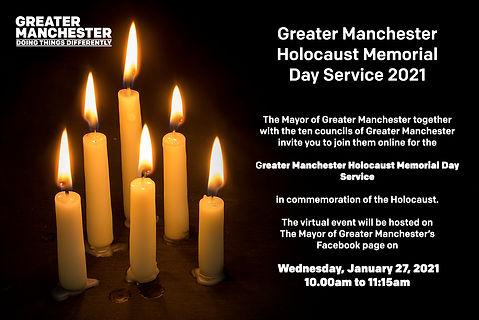 Greater Manchester Holocaust Memorial Da