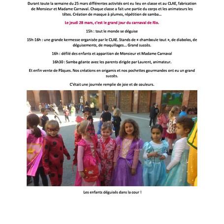 Le Carnaval à Notre-Dame