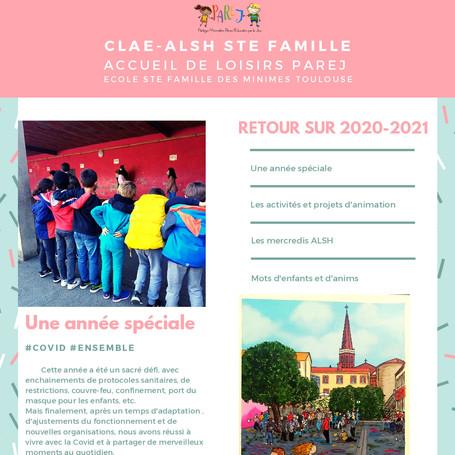 Nouveau journal Sainte Famille