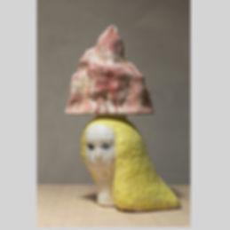 Nostalgie#2 /Sculpture ceramique/ 33x21x53(H)/ 2019