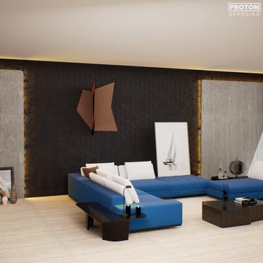 Realistic Walkthrough for Rustic Tile