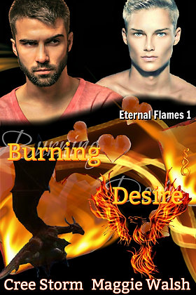 Burning Desire [Eternal Flames 1] by Cree Storm & Maggie Walsh