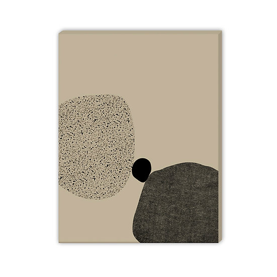 Canvas with wooden stretcher - Ready to hang (Rock Formations) - 50x70cm