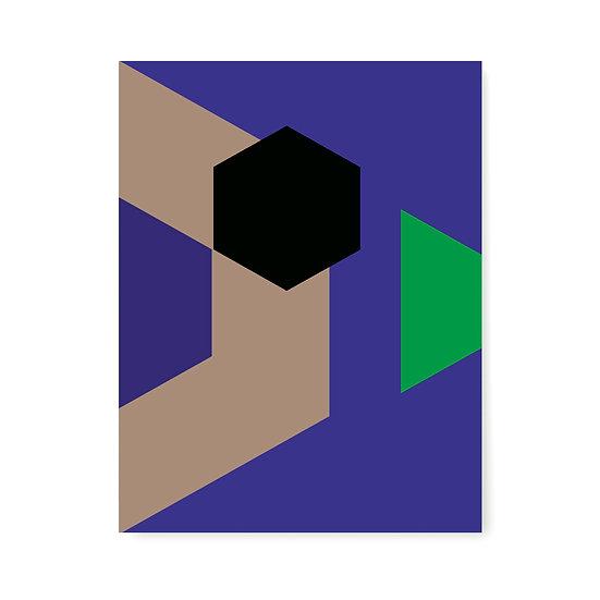 Color Block study no2 - 40x50cm