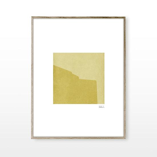 Cycladic Form Yellow 1