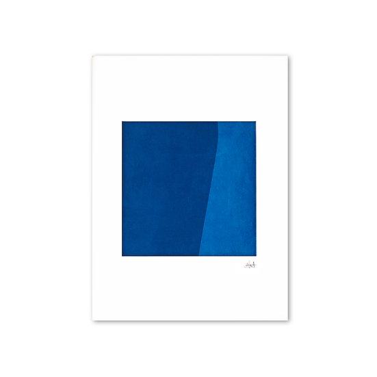 Deep Blue 02 with mat