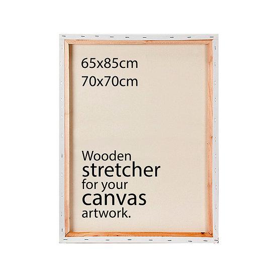 LARGE SIZES • Stretcher + Installation