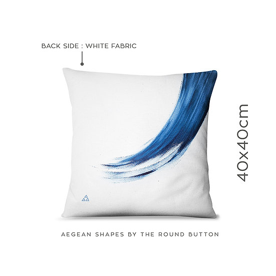 cushion cover 40x40cm : wave