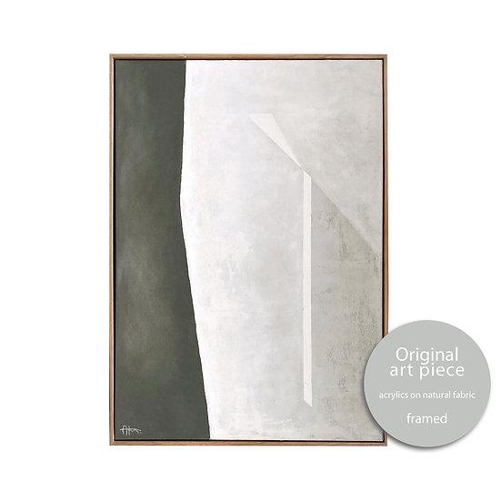 Cycladic legs form • 42x60cm WITH FRAME