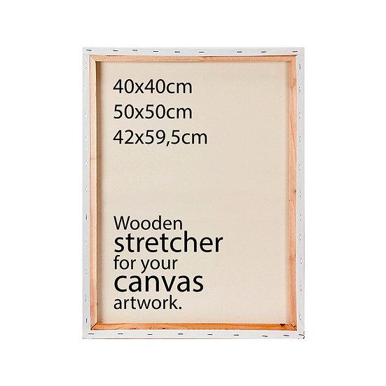 SMALL SIZES • Stretcher + Installation