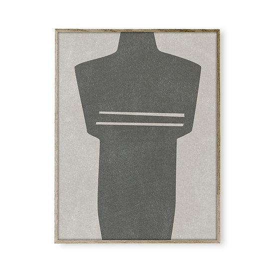 CF007 - Body Form, concrete grey