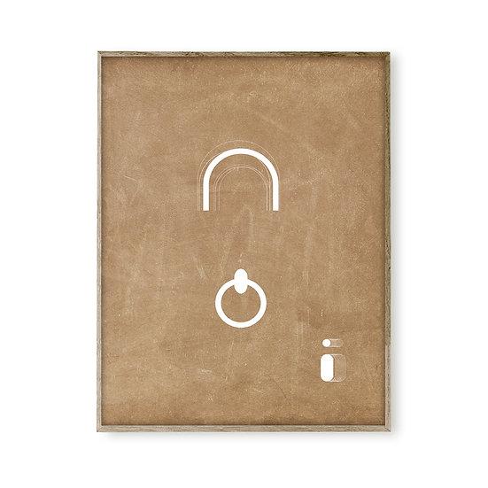 Offer A4 print - Doorknob