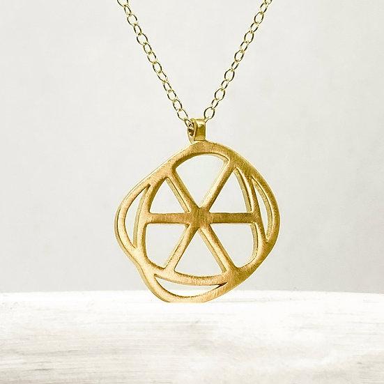 Circle - Gold plated