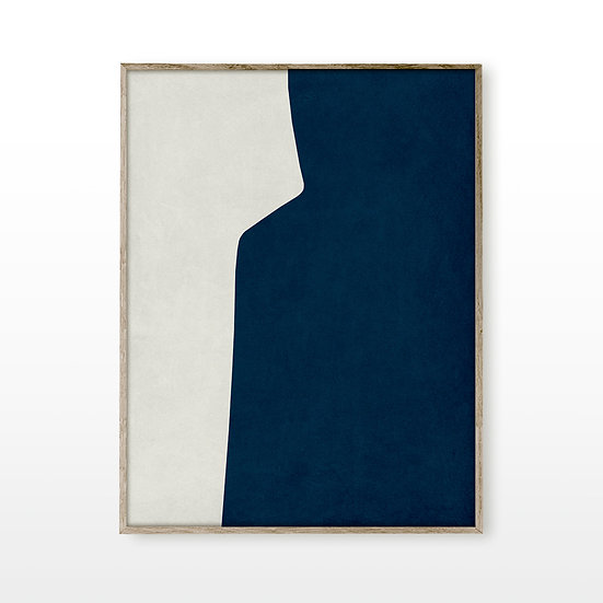Cycladic Form Dark Blue 1