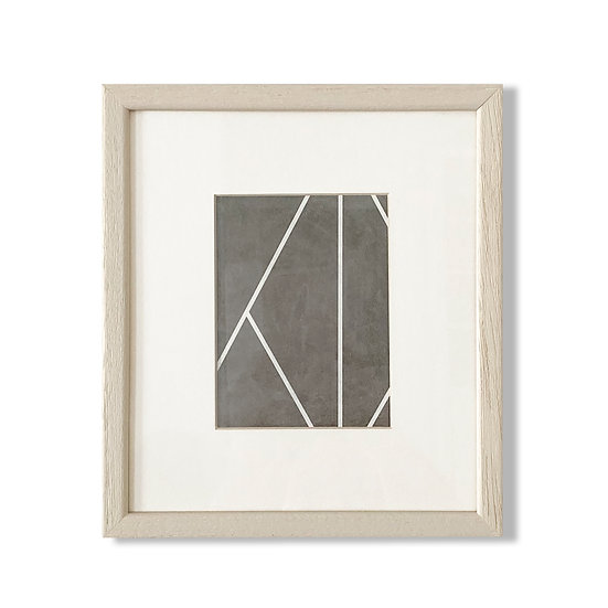 Framed Cycladic Shape - 20x23cm