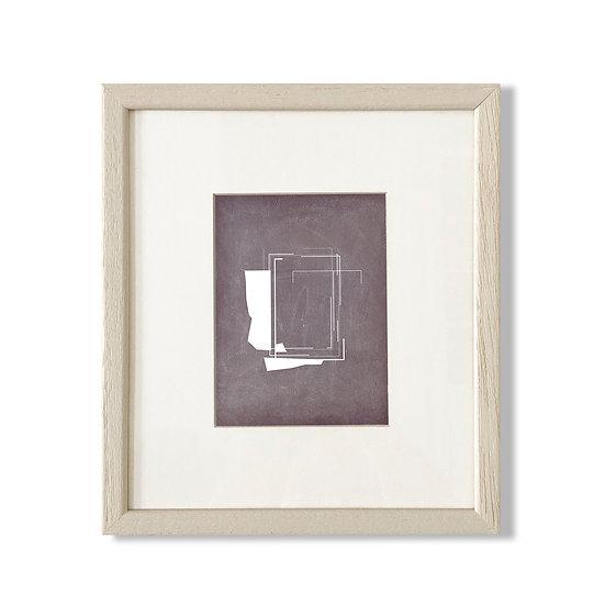 Framed Cycladic Shape B - 20x23cm