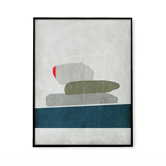 Offer A4 print - Volax Rocks