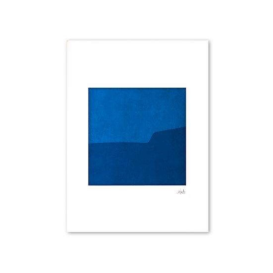 Deep Blue 01 with mat