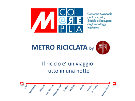 Metro riciclata by Maupal