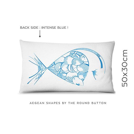 cushion cover 50x30cm : fish