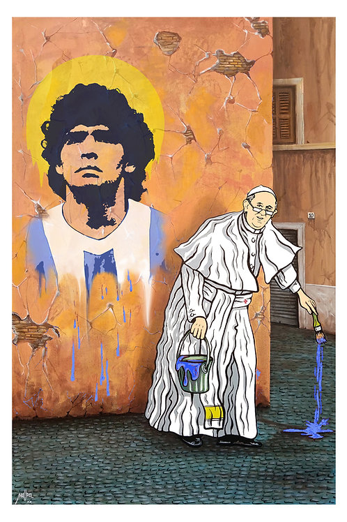 Pope's Maradona