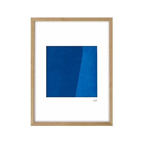 Deep Blue 02 - framed with mat