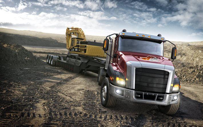 Transporte Maquinaría para Construcción