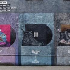Dr Martens x Joy Division/ New Order (2018)