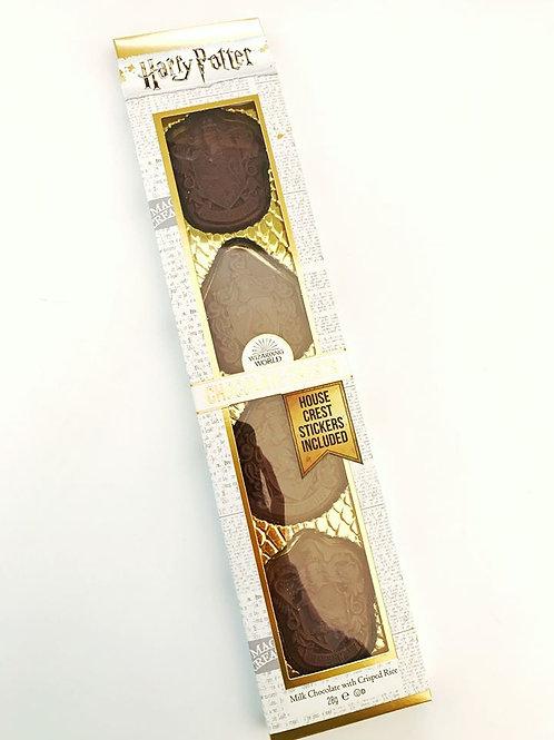 Häuserwappen Schokolade Harry Potter