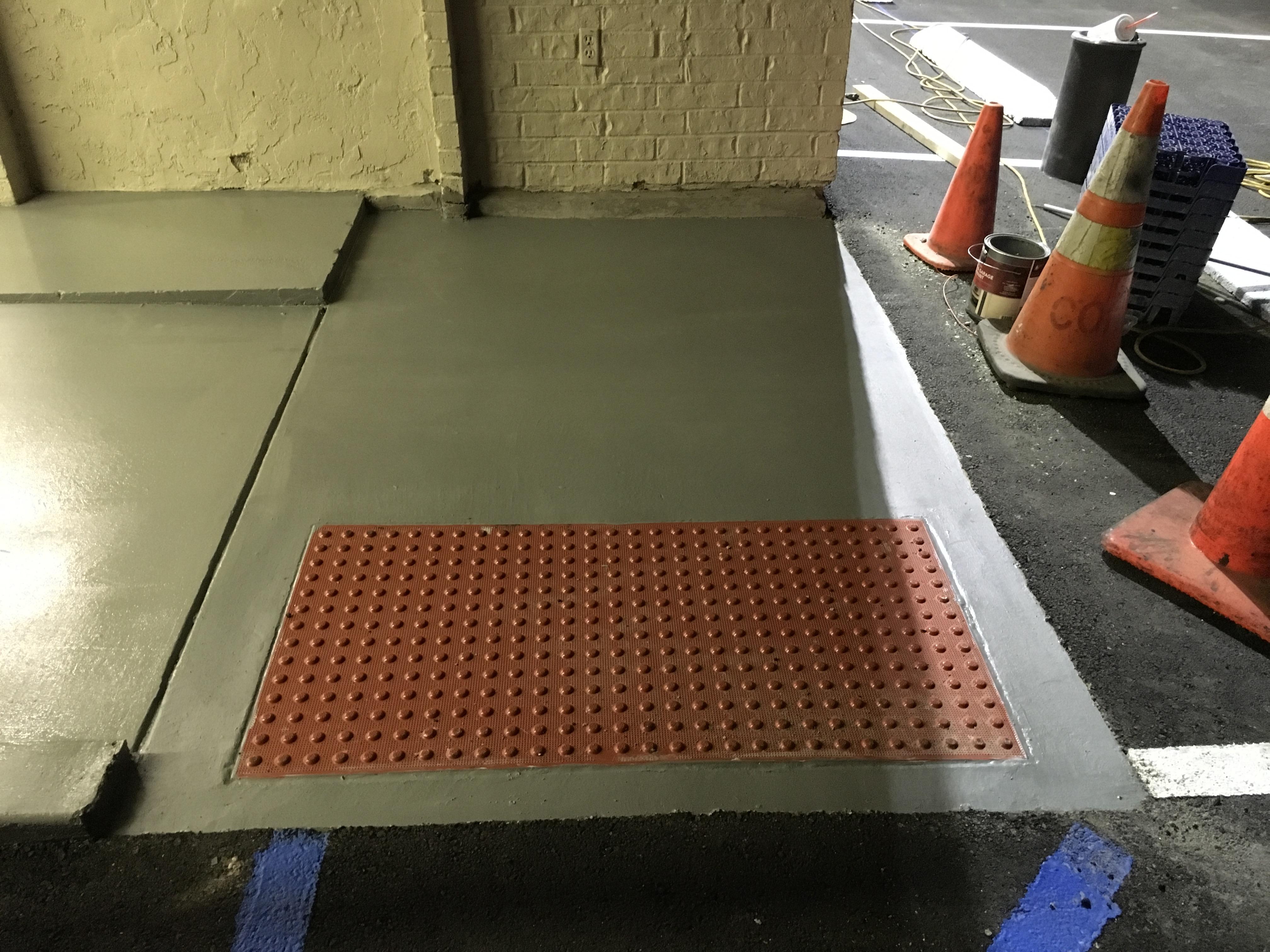 ADA Handicap Ramp