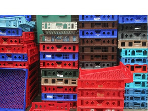 Tracking Bread and Milk Crates
