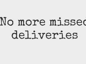 No More Missed Deliveries