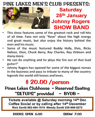 Johnny Rogers Show Band