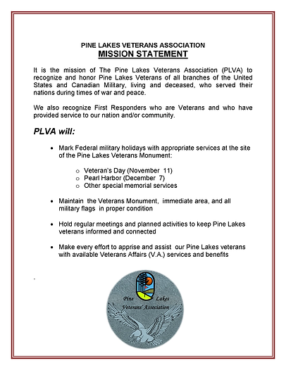 PLVA_Mission Statement APPROVED-20 Feb 2