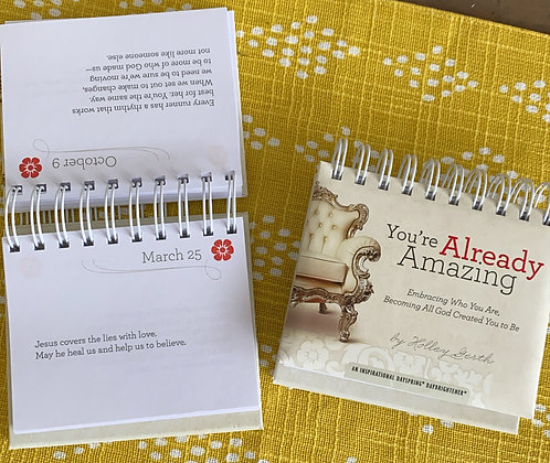 Holley Gerth - You're Already Amazing - Perpetual Calendar