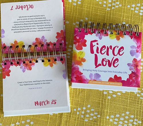 Fierce Love - 365 Day Perpetual Calendar