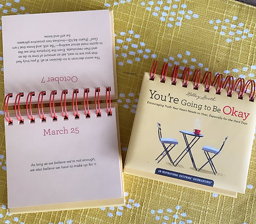 Holley Gerth - You're Going To Be Okay - 365 Day Perpetual Calendar