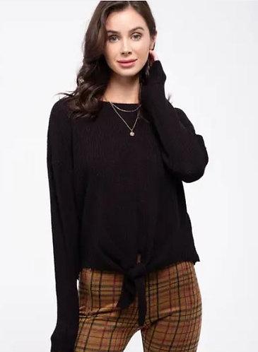 Black Tie Sweater