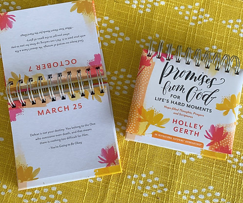 Holley Gerth - Promises From God - Perpetual Calendar