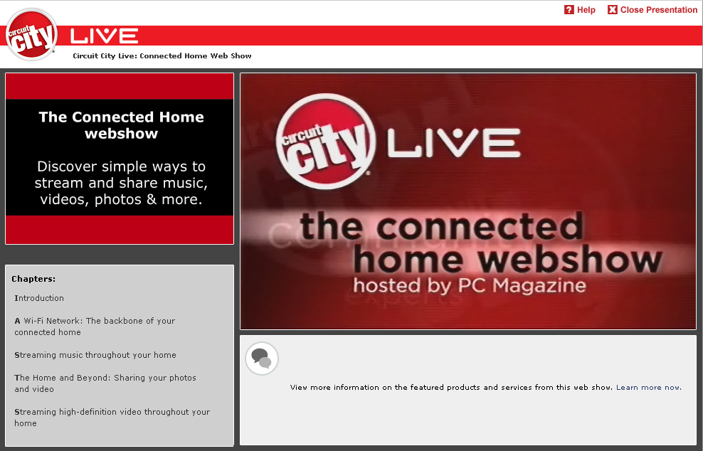 Circuit City Live Webcast