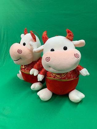 OX Chinese Zodiac Plush Doll